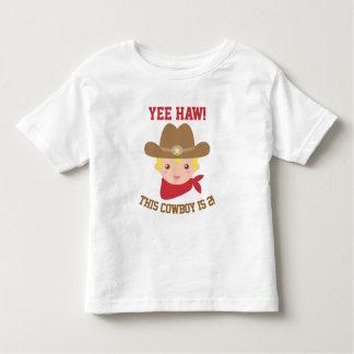 El Haw de Yee, pequeño vaquero lindo es 2 Playera De Bebé