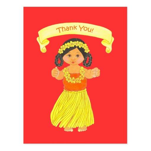 El ~ hawaiano del fiesta de Luau le agradece las p