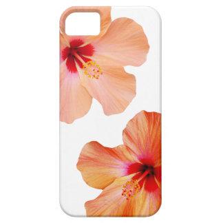El hawaiian del hibisco florece el kona de la funda para iPhone 5 barely there