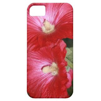 El Hawaiian rojo del hibisco florece los pétalos iPhone 5 Funda