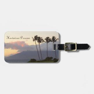 El Hawaiian soña la etiqueta del equipaje