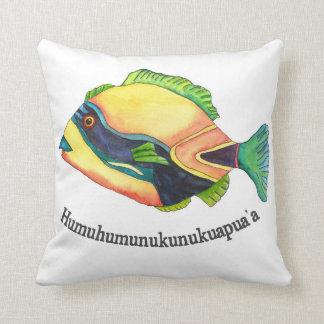 El Hawaiin Humuhumu Cojines