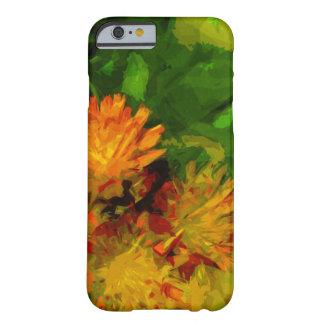 El Hawkweed anaranjado florece impresionismo Funda Para iPhone 6 Barely There