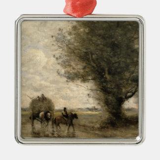 El Haycart, C. 1860 Ornamento De Navidad