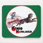 El Haymaker de Ohio Tapetes De Ratón