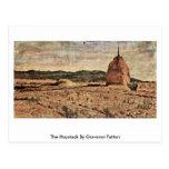 El Haystack de Giovanni Fattori Tarjetas Postales
