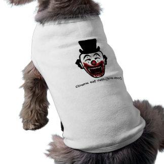 el hc, payasos come gatos. (historia verdadera) camisetas de mascota