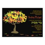 El HEBREO PONE LETRAS a la invitación de Mitzvah