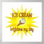 El helado aclara poster