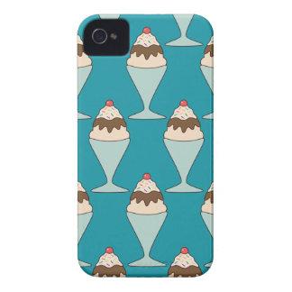 El helado de Kawaii asperja la caja del postre del Case-Mate iPhone 4 Protector