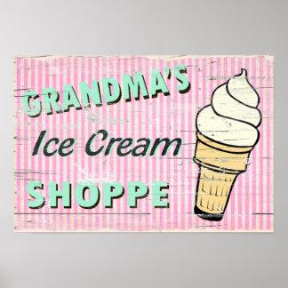El helado de la abuela poster