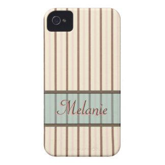 El helado raya la plantilla conocida Case-Mate iPhone 4 protector