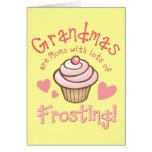 El helar de la abuela tarjeta