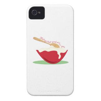 El helar se sirve mejor con una cuchara Case-Mate iPhone 4 protectores