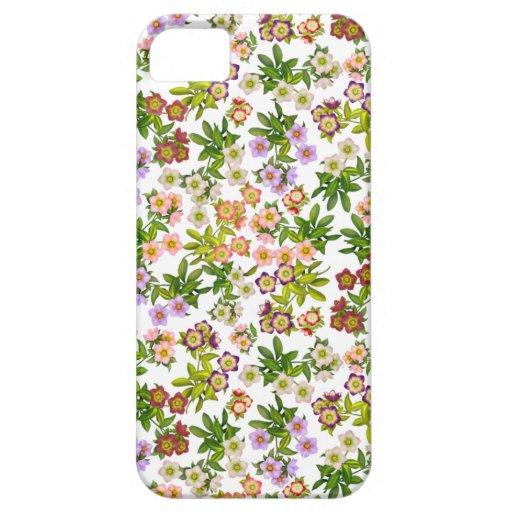 El Hellebore del rosa cuaresmal florece la caja Funda Para iPhone SE/5/5s