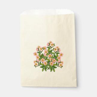 El Hellebore rosado elegante florece bolsos del