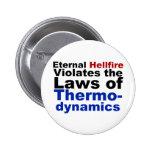 El Hellfire eterno viola la termodinámica Pins