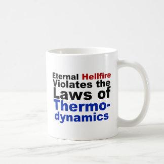 El Hellfire eterno viola la termodinámica Taza