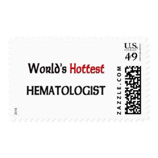 El hematólogo más caliente de los mundos