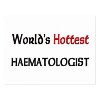 El hematólogo más caliente de los mundos tarjetas postales