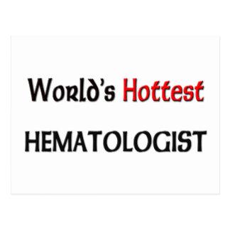 El hematólogo más caliente de los mundos postales