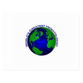 El hematólogo más grande del mundo postal