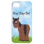 El heno Bahía-Es caso del iPhone 5 del caballo iPhone 5 Funda