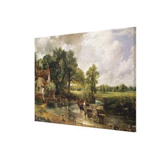 El heno Wain, 1821 Impresión En Lona