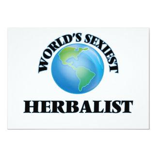 El Herbalist más atractivo del mundo Invitaciones Personales