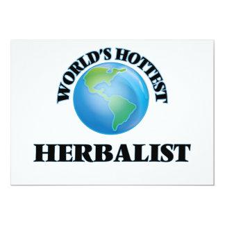 El Herbalist más caliente del mundo Comunicados Personalizados