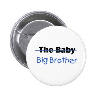 El hermano mayor del bebé pin redondo de 2 pulgadas