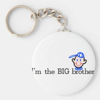 El hermano mayor llavero redondo tipo pin