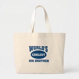 El hermano mayor más fresco bolsa tela grande