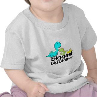 el hermano mayor más grande de los dinosaurios camiseta