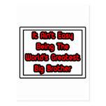 Él hermano mayor más grande… del mundo fácil de Ai Postales