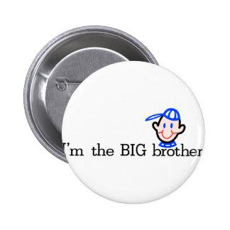 El hermano mayor pin redondo de 2 pulgadas