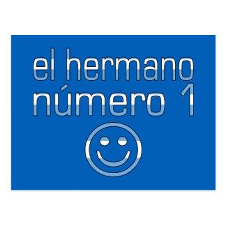 El Hermano Número 1 - Number 1 Brother Argentine Postcard