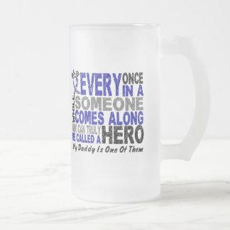 El héroe del ALS viene adelante 1 papá Taza De Café