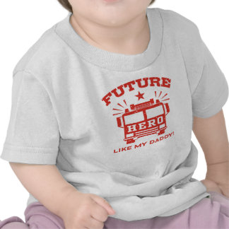 El héroe futuro tiene gusto de mi papá camiseta