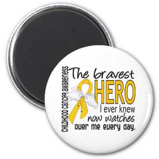 El héroe más valiente conocía nunca al cáncer de l imán redondo 5 cm