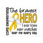 El héroe más valiente sabía COPD Tarjeta Postal
