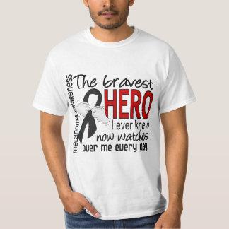 El héroe más valiente sabía nunca el melanoma playera