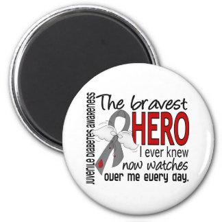El héroe más valiente sabía nunca la diabetes juve iman de frigorífico