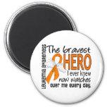 El héroe más valiente sabía nunca leucemia iman para frigorífico