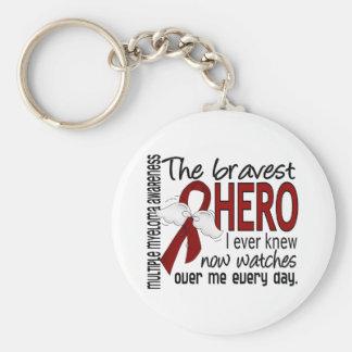 El héroe más valiente sabía nunca mieloma múltiple llavero redondo tipo pin