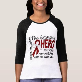 El héroe más valiente sabía nunca mieloma múltiple camiseta