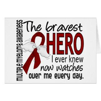 El héroe más valiente sabía nunca mieloma múltiple tarjetón