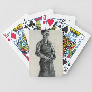 El herrero joven, 1882 (tiza y lápiz negros baraja de cartas