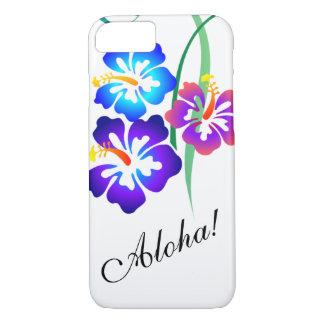 El hibisco hawaiano florece hawaiana funda iPhone 7