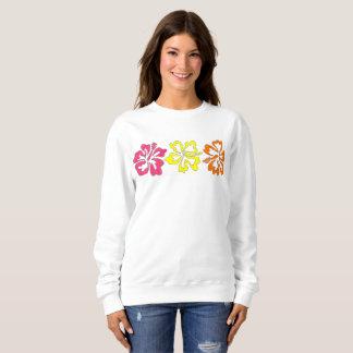 El hibisco hawaiano tropical florece la camiseta